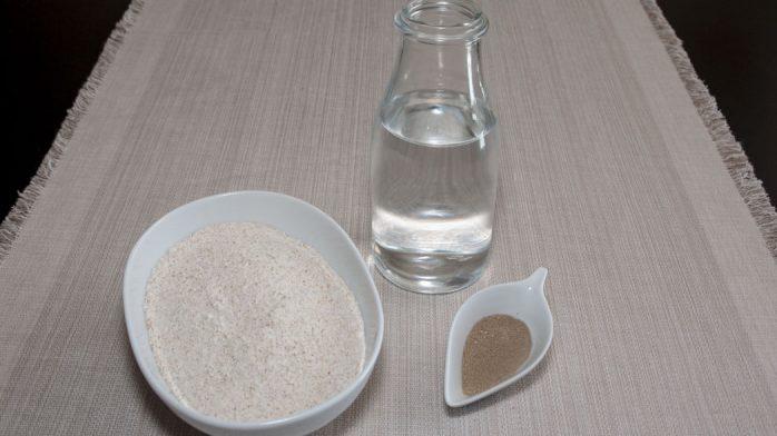 Pan mallorquin ingredientes