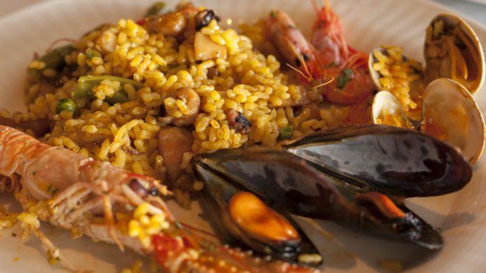 Restaurante Miramar paella