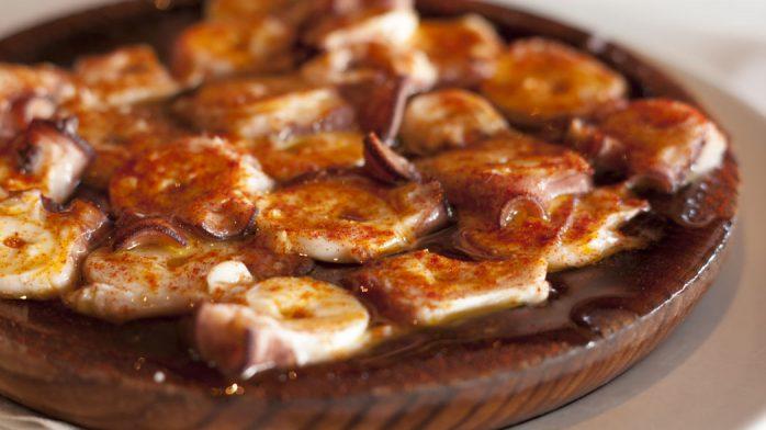 Restaurante Miramar pulpo gallega