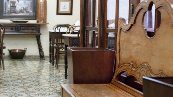 Can Joan de s'Aigo banco